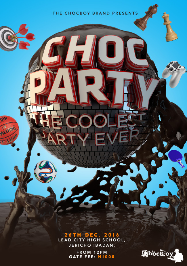ChocBoy Announces #ChocParty2016 With Live Graffiti Billboard!